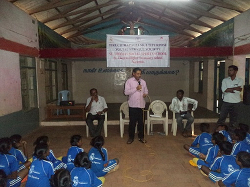 DIRECTOR'S INTERACTION WITH THE SOCIAL SPORTS SCHOOL STUDENTS